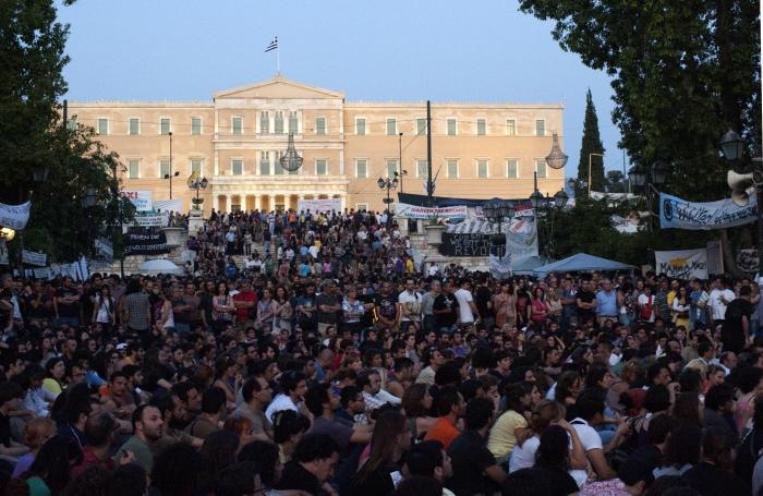 Athen-Hellas-demonstrasjon-Wikimedia-Commons