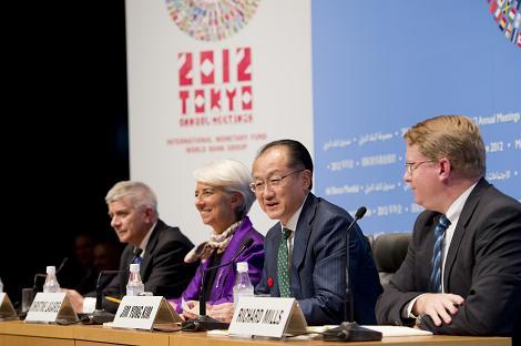 Verdensbankens styre i 2009.