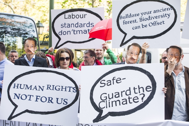 Verdensbankens grand tour møter motstand