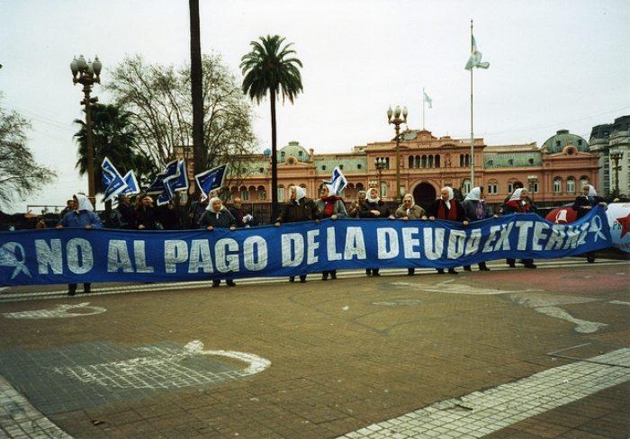Argentina Protest No A La Deuda  By Xomiele Flickr