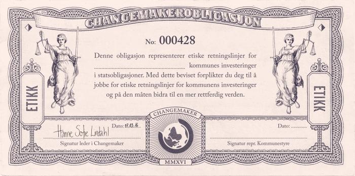 Changemakerobligasjon Kampanjepakke