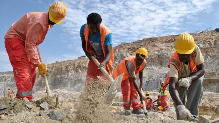 Etiopia Dambygging