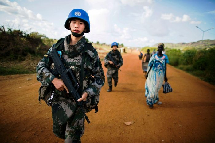 Fn Fredsbevarende Styrker Sør Sudan