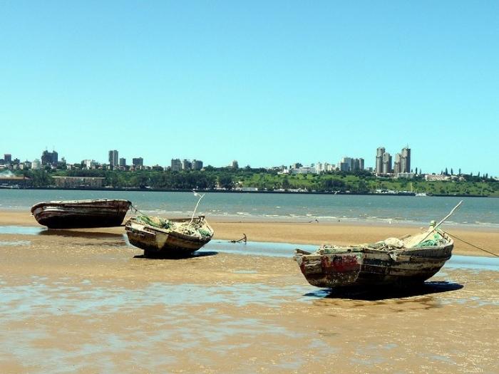 Mosambik-fiskebåter