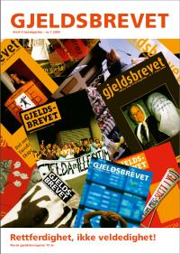 Norsk gjeldsbevegelse fyller 15 år - Gjeldsbrevet 1/2009