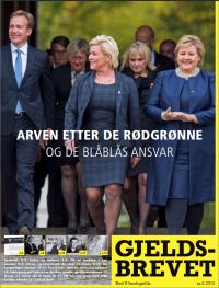 Arven etter de rødgrønne og de blåblås ansvar - Gjeldsbrevet 2/2013