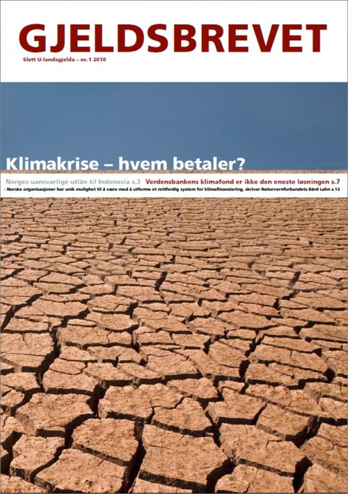Klimakrise - Gjeldsbrevet 1/2010